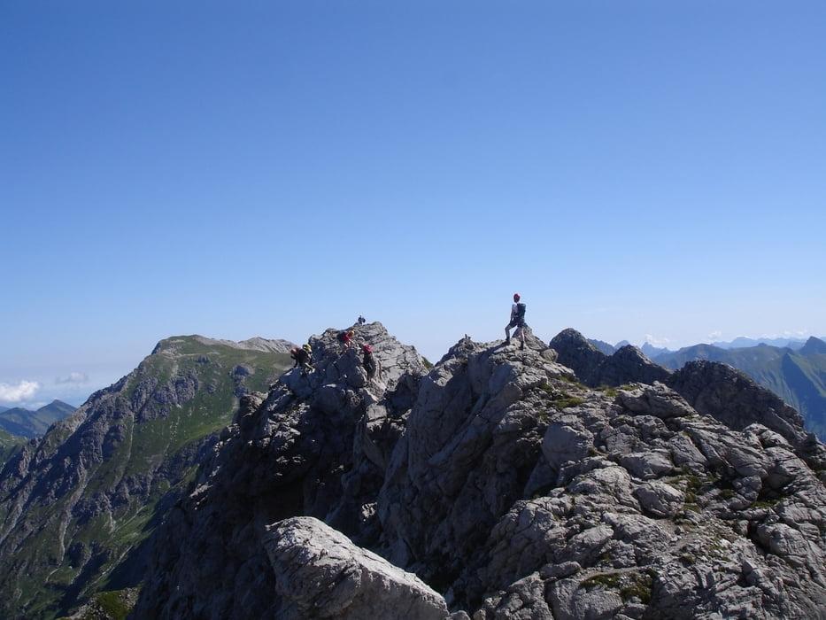 Klettersteig Hindelang : Pala klettersteigtouren dolomiten
