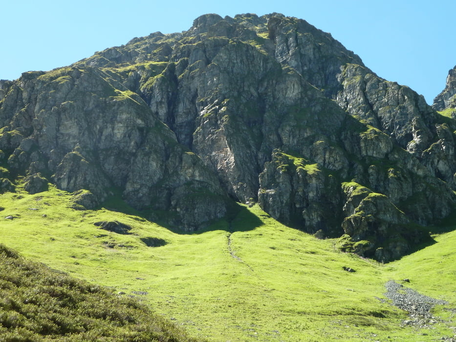 Klettersteig Madrisella : Bergtour matschurner gratweg madrisella alpe nova tour