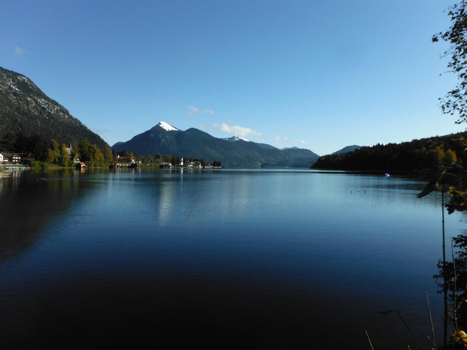 Klettersteig Walchensee : Laufen um den walchensee tour