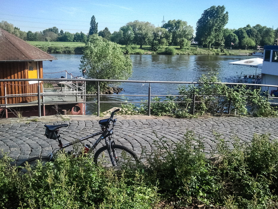 Fahrrad Touring: Fulda Vulkanradweg Limesradweg Niddaradweg