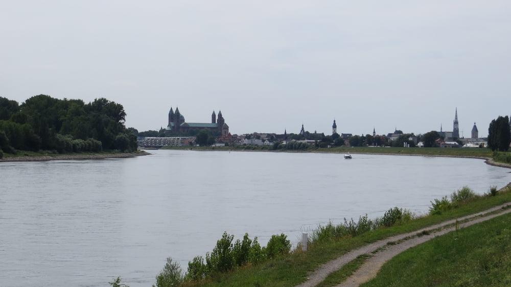 Fahrrad Touring: Radtour am Rhein von Wörth nach Speyer