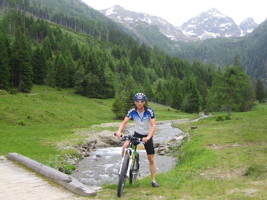 Mountainbike singletrail Tyskland