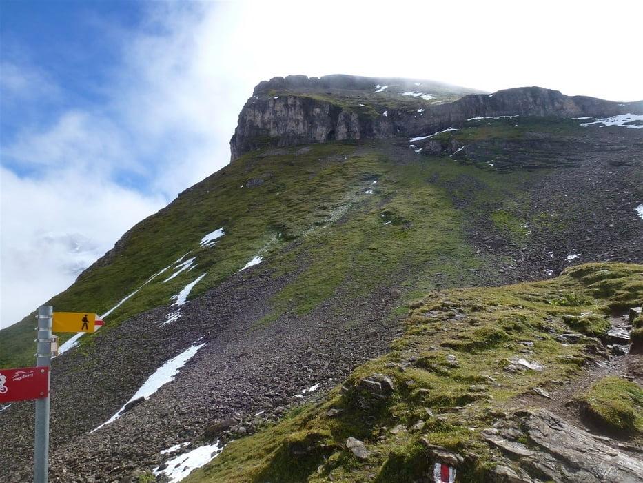 Klettersteig Jochpass : Bergtour engelberg unter trübsee jochpass tour