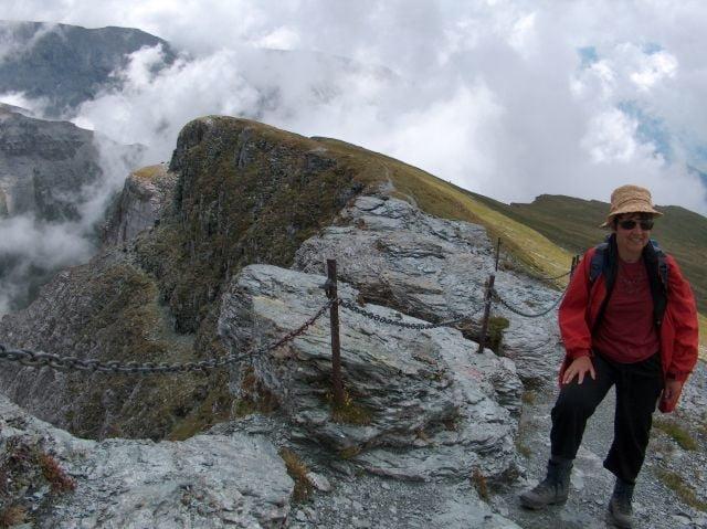 Klettersteig Flimserstein : Auf den flimserstein u pinut zenerino