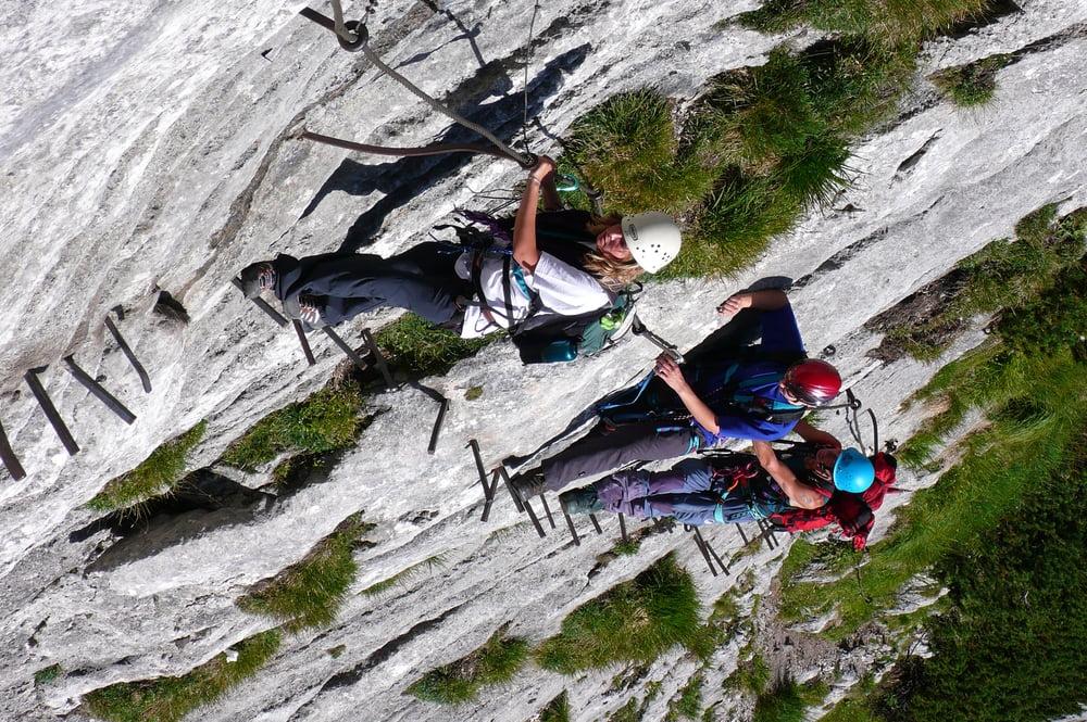 Klettersteig Durchs H 246 Llental Auf Die Zugspitze Tour