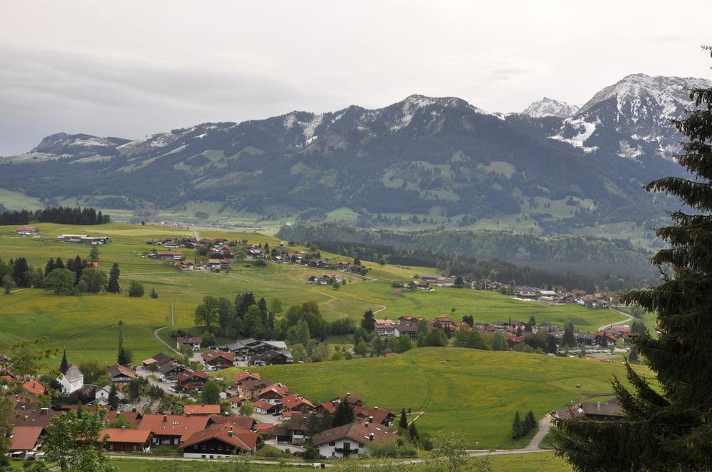 Klettersteig Besler : Wandern aufstieg von obermaiselstein zum besler tour