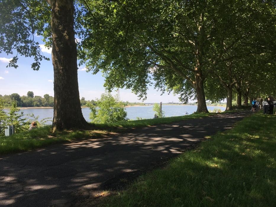 Fahrrad Touring: Wesel – Duisburg Ruhrort (Tour 173513)