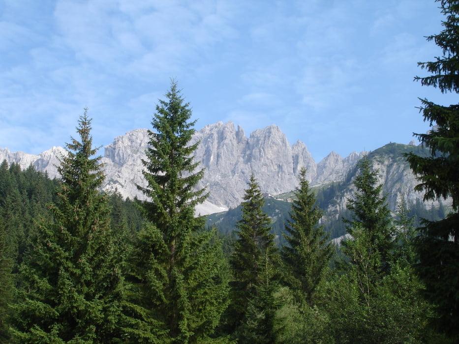 Klettersteig Wilder Kaiser Ellmauer Halt : Ellmauer halt über gamssängersteig klettersteig b hm h