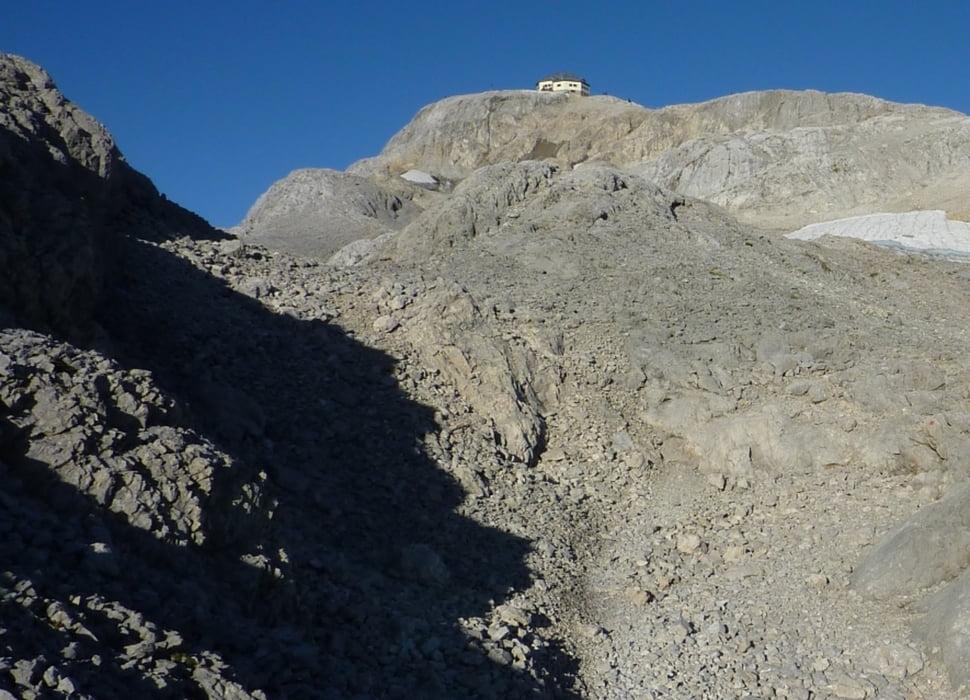 Klettersteig Zell Am See : Klettersteig: abstieg matrashaus 2941m zum arthurhaus 1500m tour