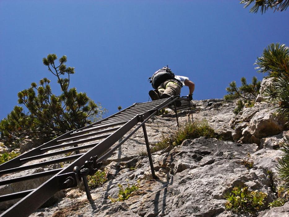Klettersteig Leiter : Klettersteig: klettersteig gaetano falcipieri und wanderung auf der