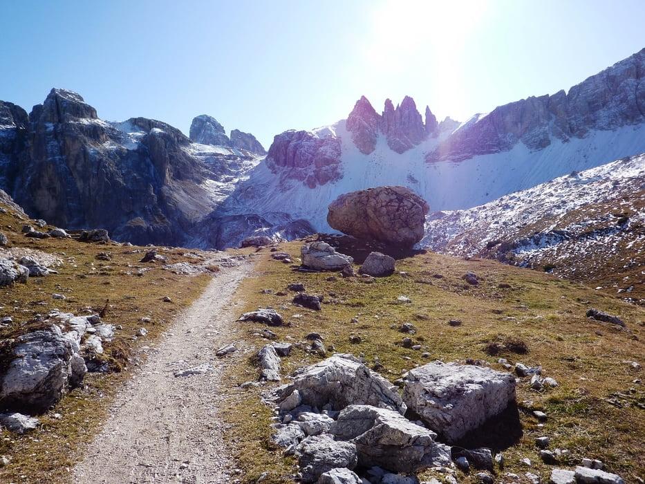 Klettersteig Paternkofel : Paternkofel paterno innerkofler klettersteig