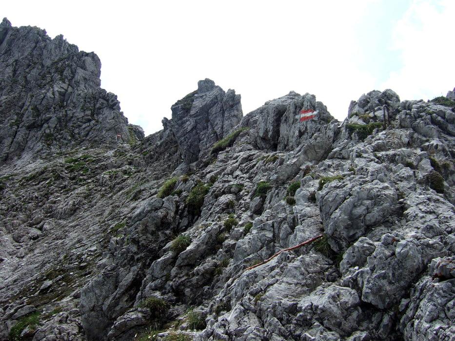 Klettersteig Zauchensee : Bergtour gipfel über dem zauchensee tour