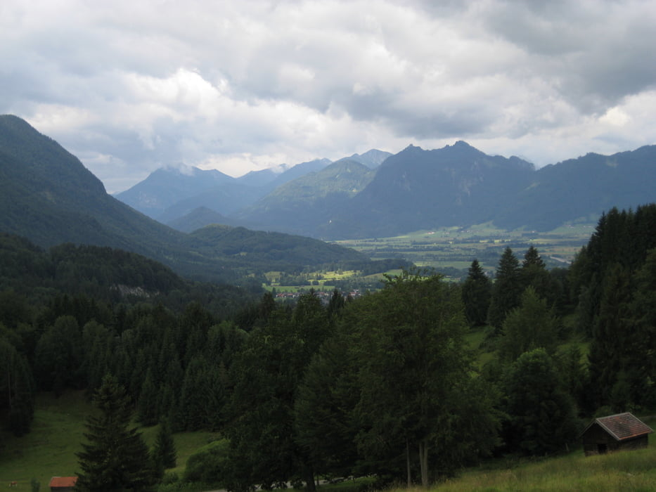 Klettersteig Walchensee : Mountainbike von eschenlohe zu kochel und walchensee tour