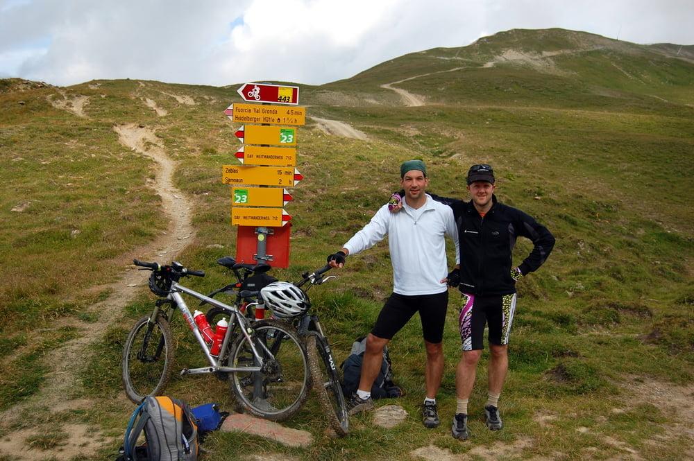mountainbike 3 tage zwischen ischgl und galt r tour 38420. Black Bedroom Furniture Sets. Home Design Ideas