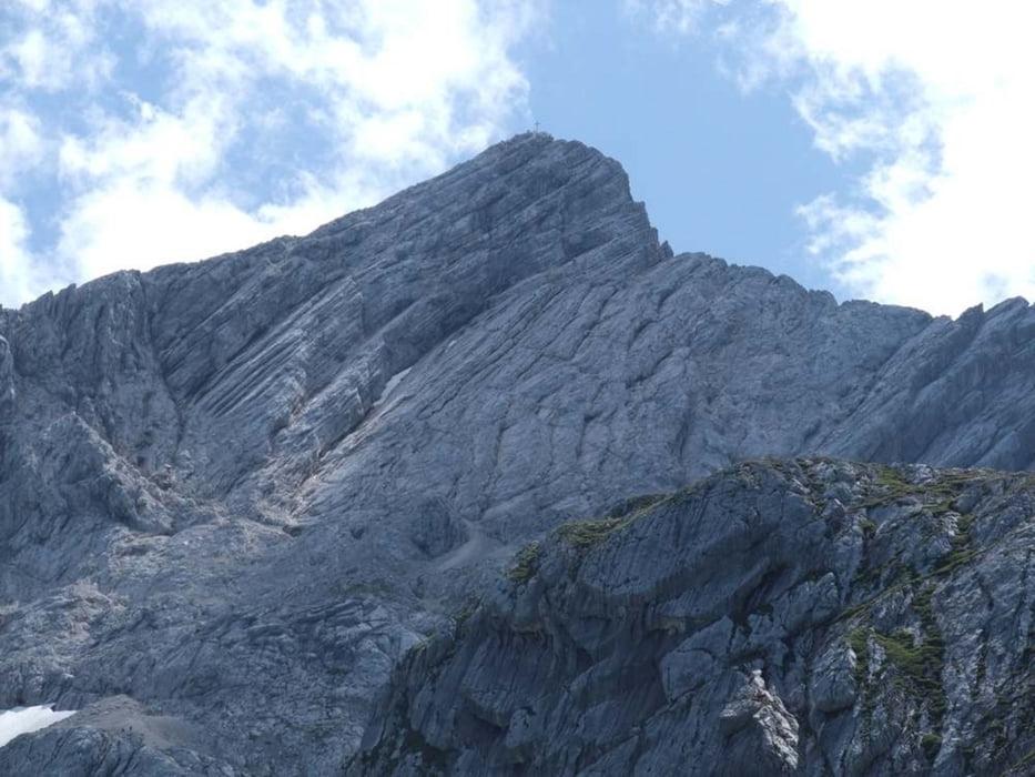 Klettersteig Garmisch : Klettersteig alpspitze bei garmisch tour