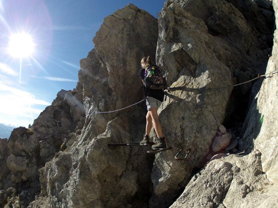 Klettersteig Wilder Kaiser Ellmauer Halt : Bergtour wilderkaiser gruttenhütte jubiläumssteig ellmauer