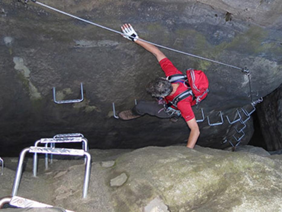 Klettersteig Deutschland : Deutschland klettersteigführung alpspitze