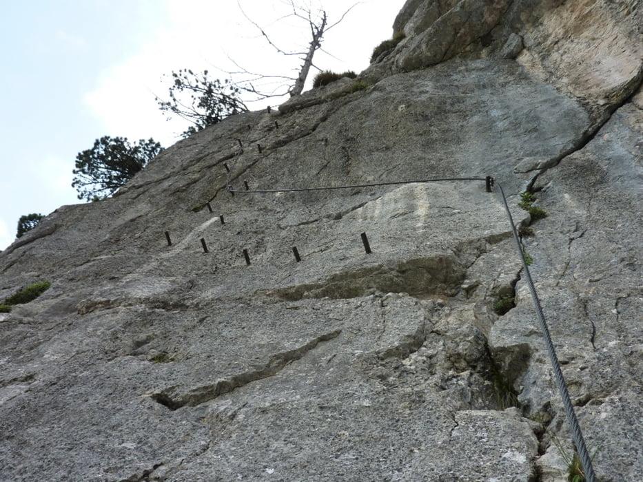Klettersteig Seewand : Klettersteig hallstatt seewand tour