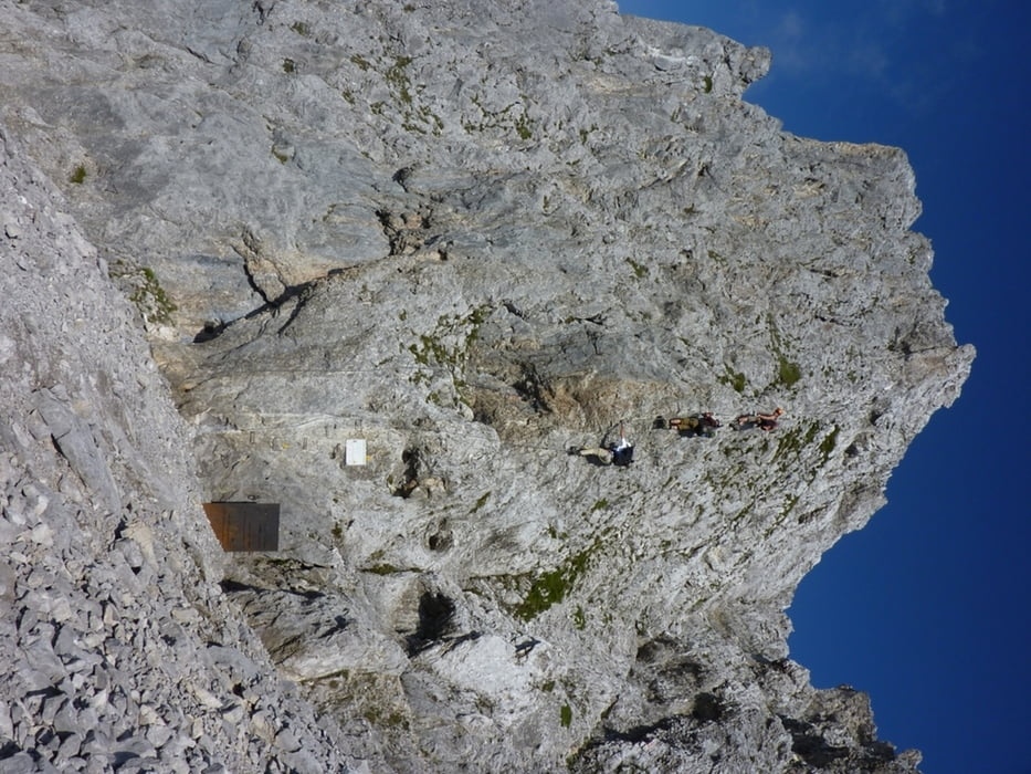 Klettersteig Innsbruck Nordkette : Klettersteig innsbrucker nordkette brandjochspitze