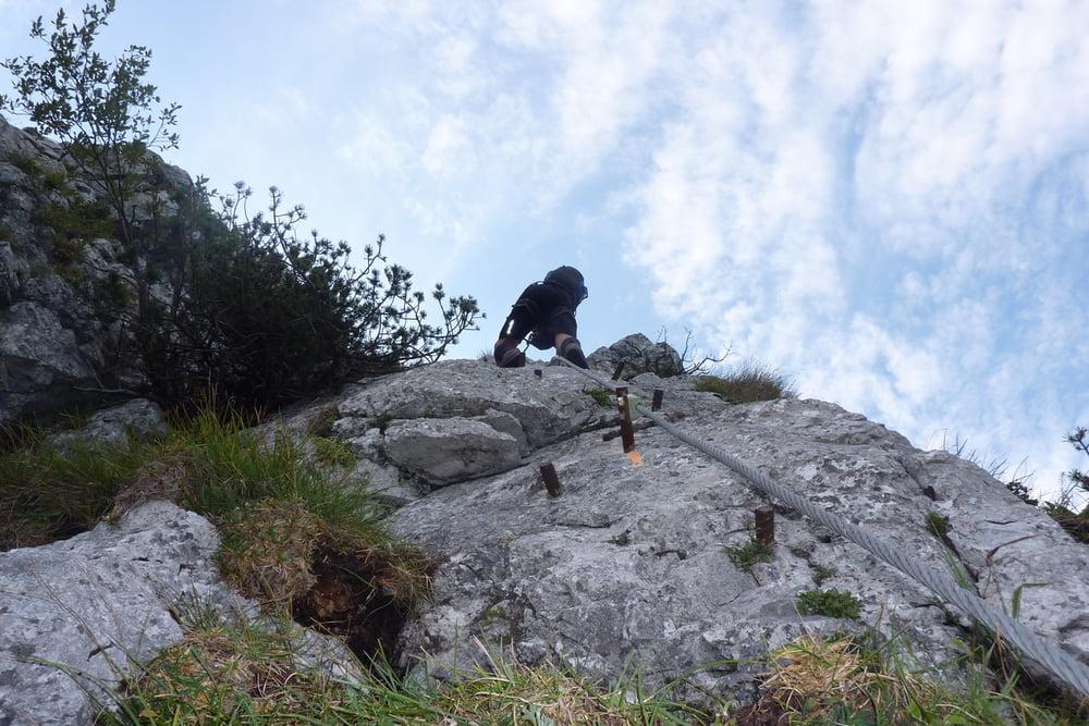 Klettersteig Attersee : Attersee klettersteig kirchbergfex