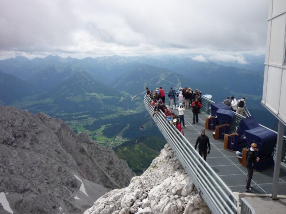 Hiking Dachstein Hunerkogel To Seethalerhutte Tour 65789