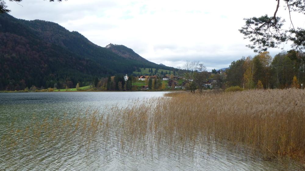 Mountainbike: Bayrische Voralpen: Forggensee, Weißensee