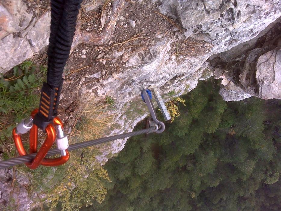 Pittentaler Klettersteig : Klettersteig: pittentaler klettersteig tour 110524