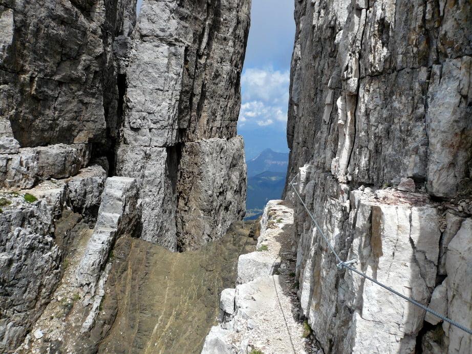 Klettersteig Rosengarten : Klettersteig: latemar klettersteig tour 22491