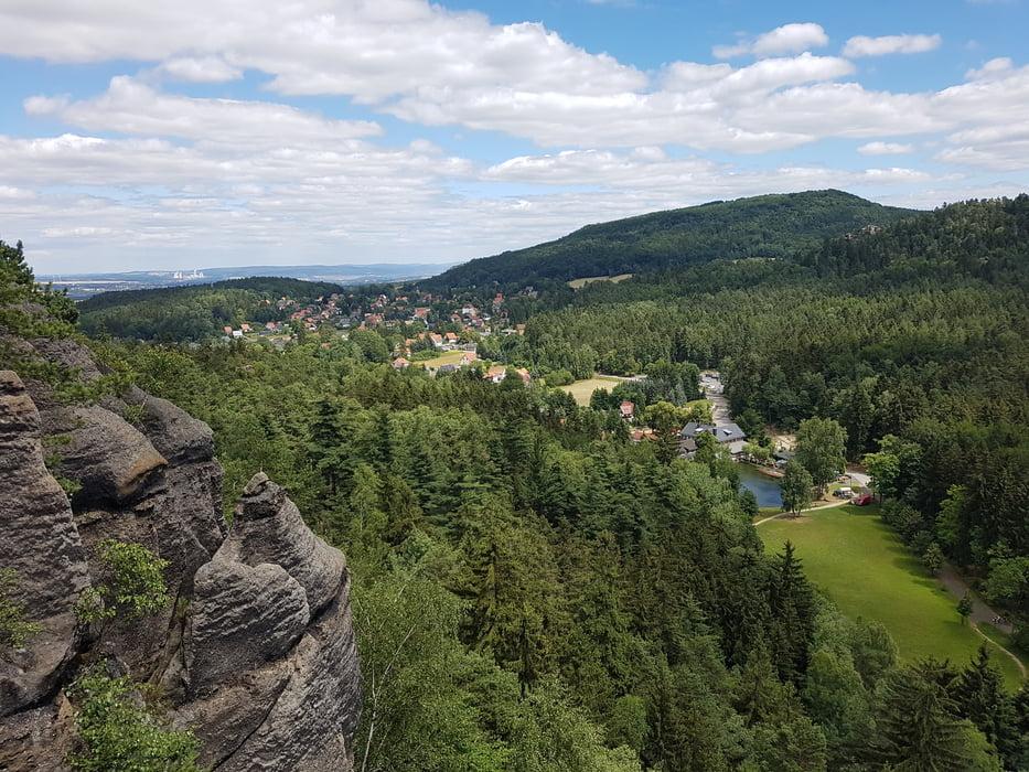 Klettersteig Jonsdorf : Klettersteig jonsdorfer und mühlsteinbrüche tour