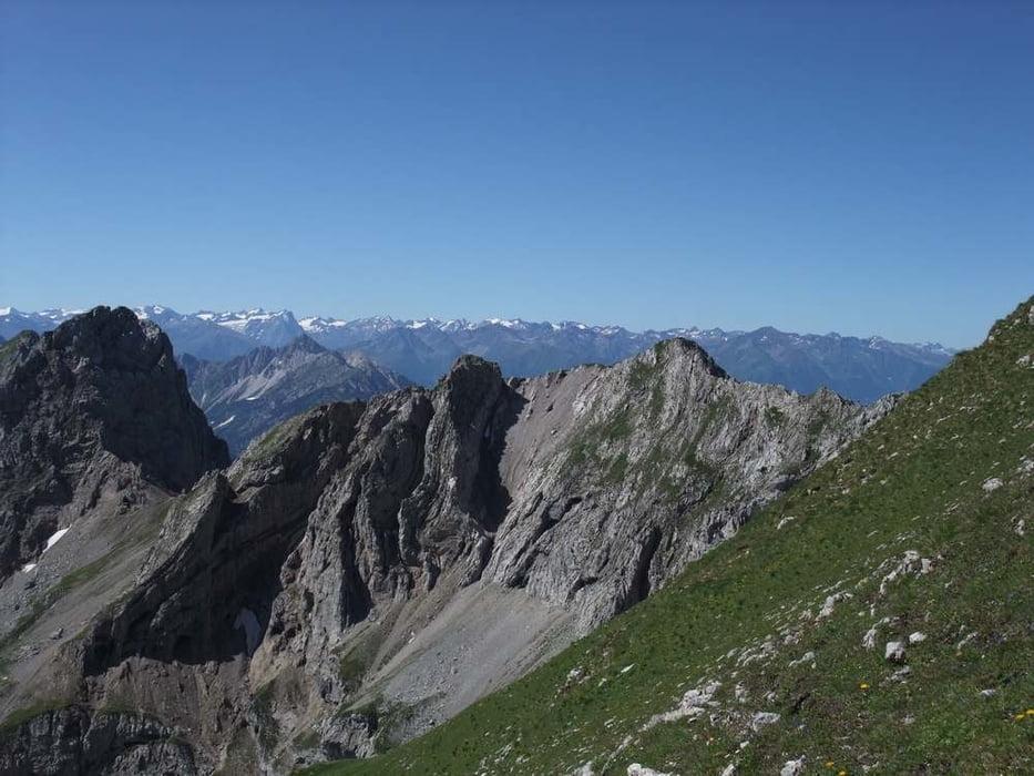 Klettersteig Mittenwald : Mittenwalder klettersteig höhenweg karwendel