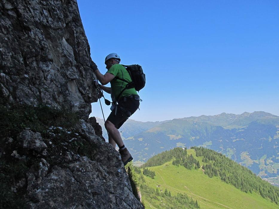 Klettersteig Gerlossteinwand : Klettersteig gerlosstein wand alpenverein