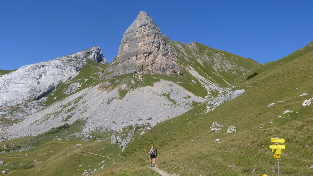 Klettersteig Achensee : Klettersteig: achensee: haidachstellwand u. rosskopf rundkurs
