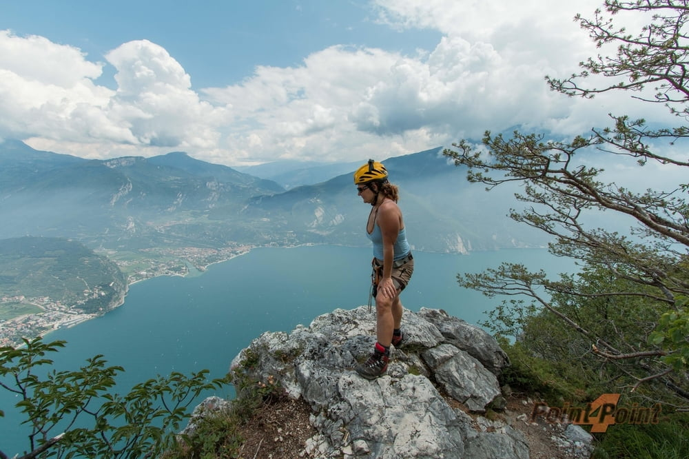 Klettersteig F : Wilde gams klettersteig e f hochkranz m berchtesgadener