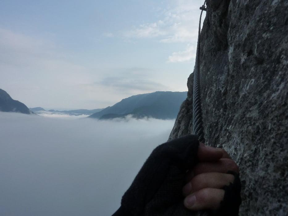 Klettersteig Hallstatt : Klettersteig hallstatt seewand tour