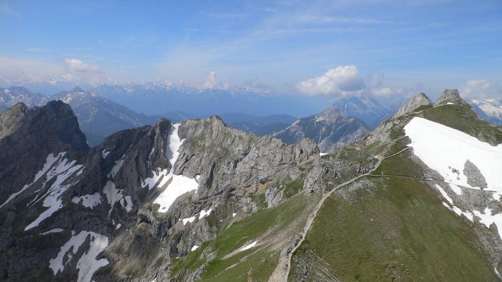Klettersteig Set Gebraucht : Leichter klettersteig b via ferrata burrone giovanelli auf den