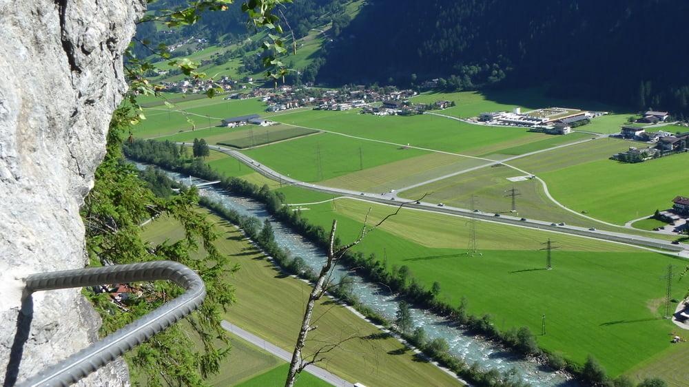 Klettersteig Zimmereben : Klettersteig: zillertal: zimmereben tour 123667