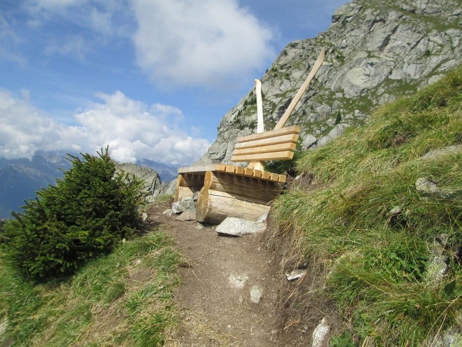 Klettersteig Ifinger : Gipfeltour zum ifinger wandern südtirol