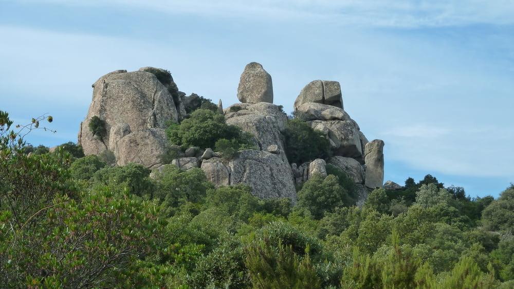 Mountainbike nach luogosanto und zum stausee lago del for Quella del tavolo e liscia