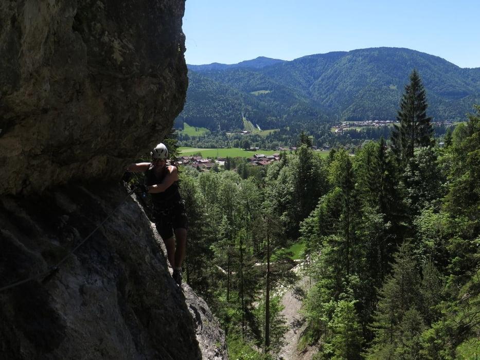 Klettersteig Reit Im Winkl : Klettersteig reit im winkl hausbachfall und