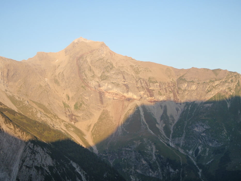 Klettersteig Saulakopf : Klettersteig saulakopf tour