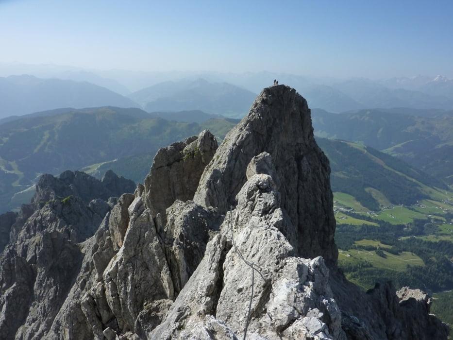 Klettersteig Königsjodler : Klettersteig: königsjodler klettersteig 2941m tour 88074