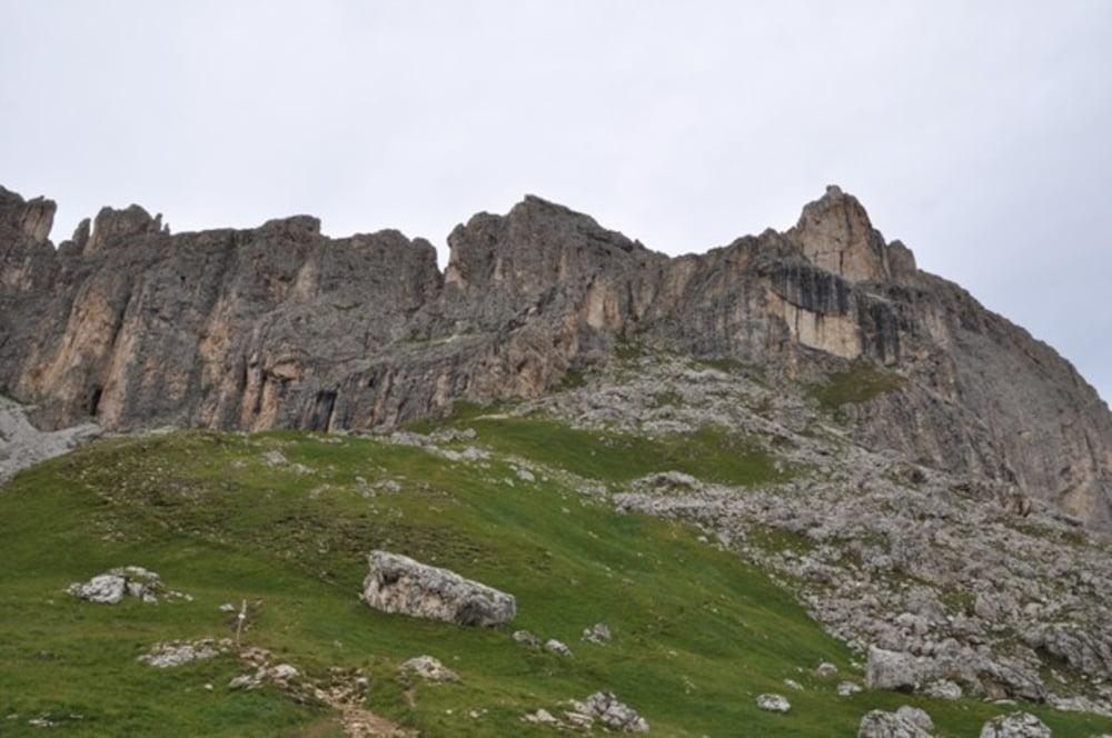 Klettersteig Rosengarten : Klettersteig: masare klettersteig 2650m tour 134529