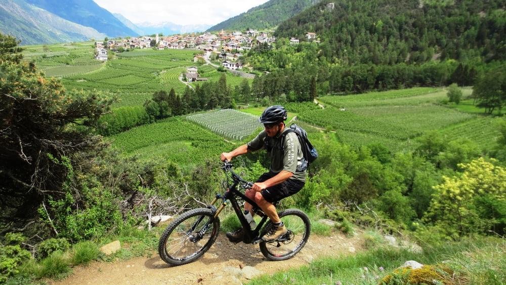 mountainbike vinschgauer technik trails tour 117534. Black Bedroom Furniture Sets. Home Design Ideas