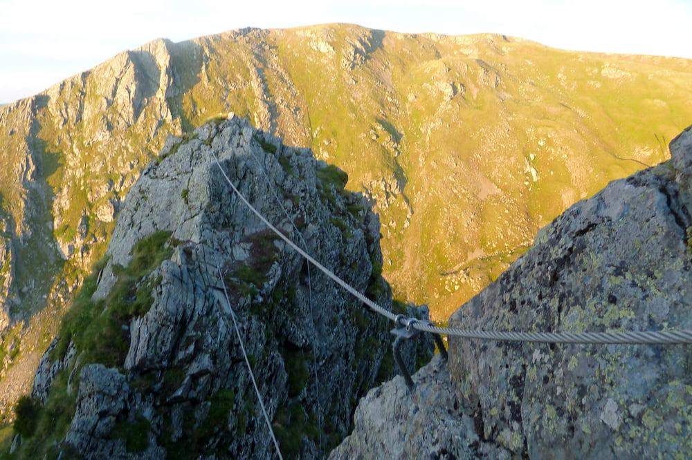 Klettersteig Falkert : Falkert klettersteig d falkertsee kärnten youtube