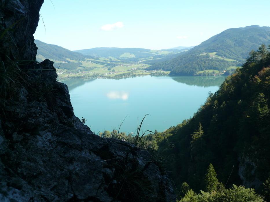 Klettersteig Drachenwand : Klettersteig drachenwand tour