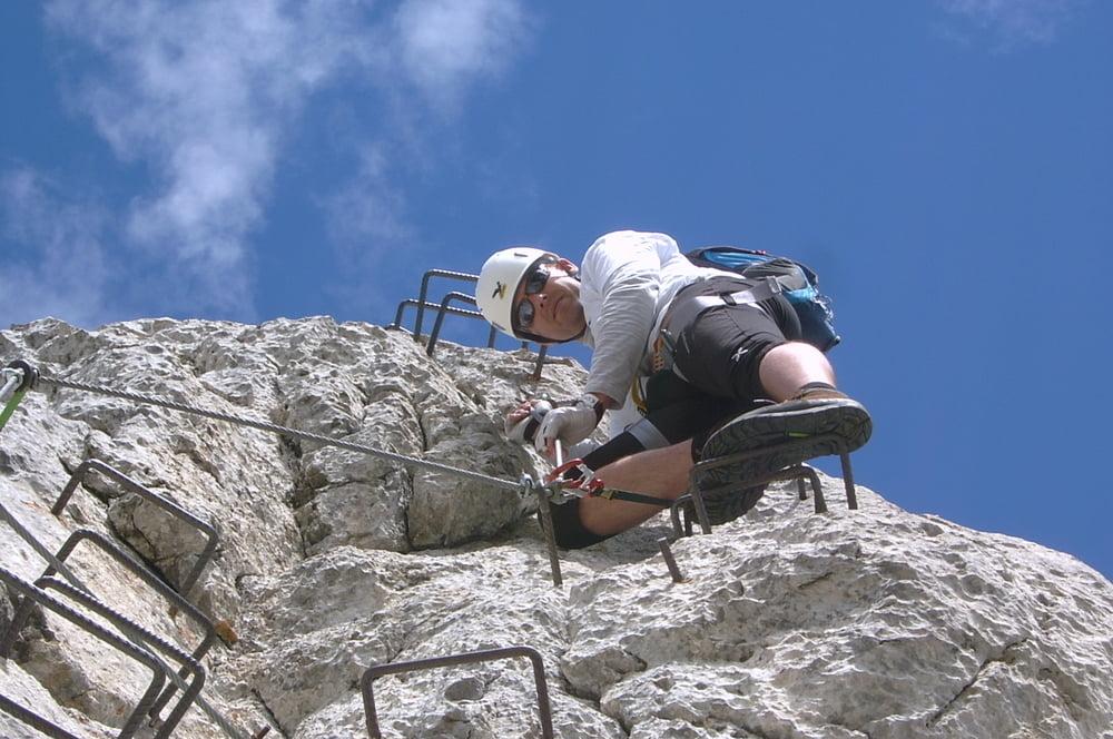 Klettersteig Innsbruck : Klettersteig innsbrucker m tour
