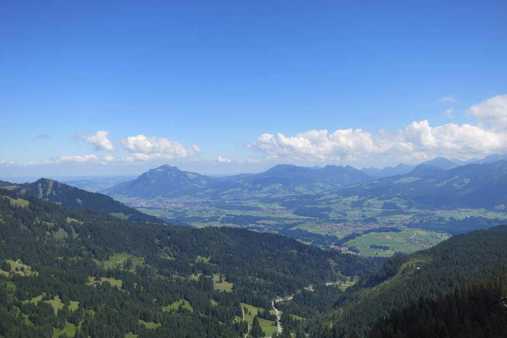 Klettersteig Besler : Bergtour von der riedbergstraße zum besler tour