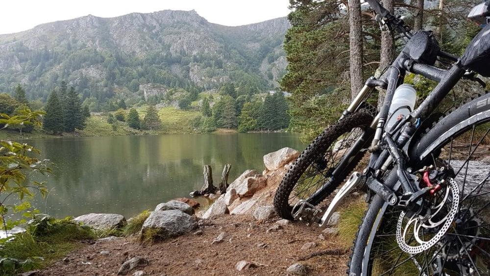 Klettersteig Vogesen : Mountainbike: vogesen: von labaroche zum lac noir tour 160797