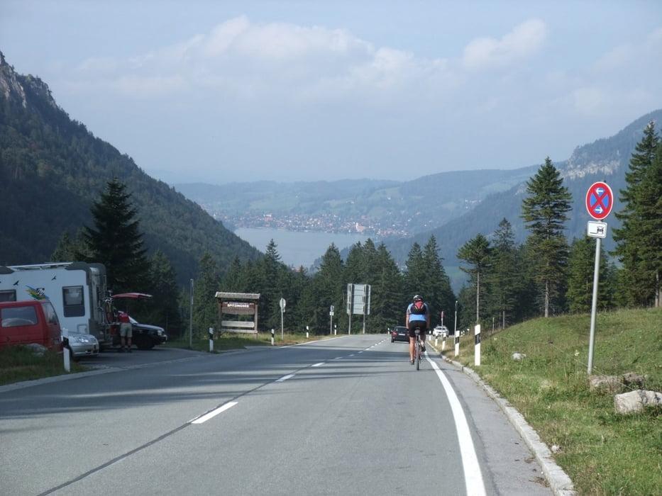 Rennrad Münchenlaim Bis Valepp Und Zurück über