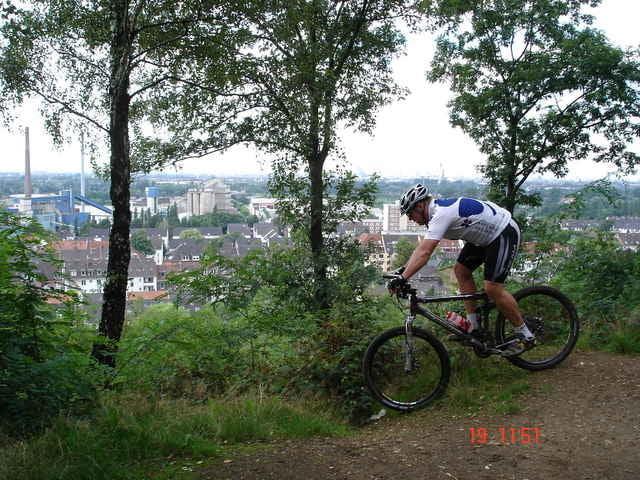 Mountainbike singletrail deutschland